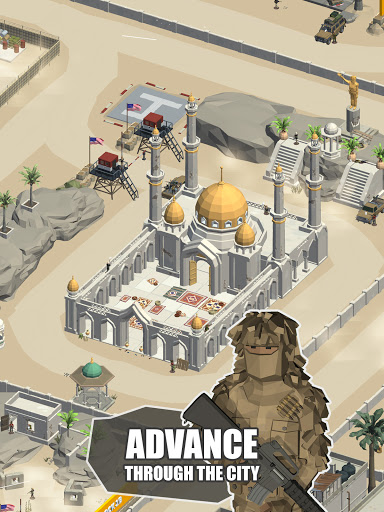 Idle Warzone 3d: Military Game - Army Tycoon screenshots 11