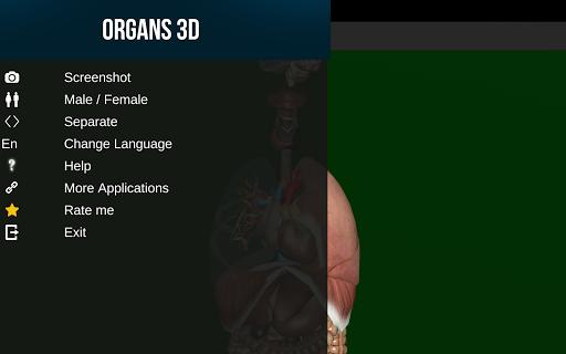 Internal Organs in 3D (Anatomy) 2.5 Screenshots 10