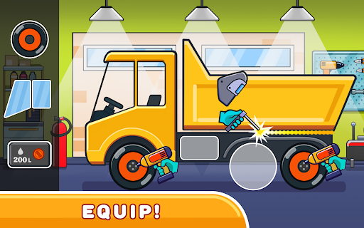 Car games for kids: building and hill racing 0.1.9 screenshots 7