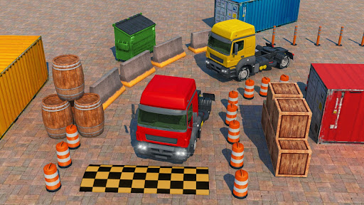 New Truck Parking City Drive : Free Game 2021 1.0 screenshots 8