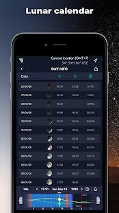 Ephemeris – Sun and Moon Calendar & Calculator