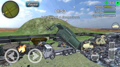 Super Crime Steel War Hero Iron Flying Mech Robot 1.2.1 Screenshots 24