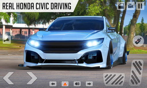 Drifting Car Simulator Civic - Real Car Drifting 1.21 screenshots 2