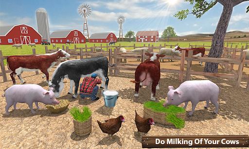 Organic Tractor Farming SIM: Mega Harvesting 3.0.3 screenshots 3