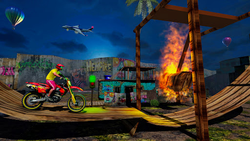 Stunt Bike 3D Race - Bike Racing Games apkpoly screenshots 12