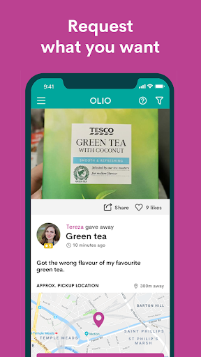 OLIO - Share more. Waste less. modavailable screenshots 3