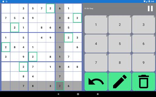 SUDOKU - Offline Free Classic Sudoku 2021 Games  screenshots 15