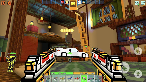 Cops N Robbers - 3D Pixel Craft Gun Shooting Games goodtube screenshots 3