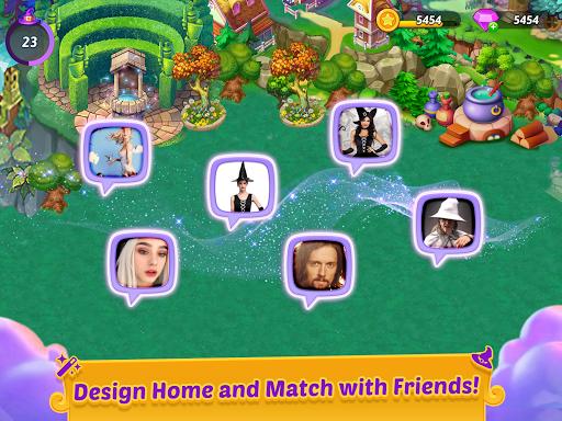 Merge Witches - merge&match to discover calm life Apkfinish screenshots 15