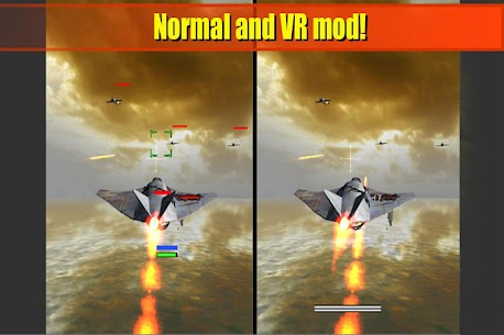 WW4  VR flight shooter Game Hack Android and iOS 4