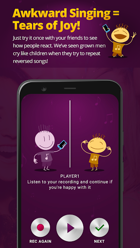 inReverse Party Game - Backwards Karaoke 1.1 screenshots 4
