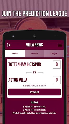 villa news - fan app screenshot 2