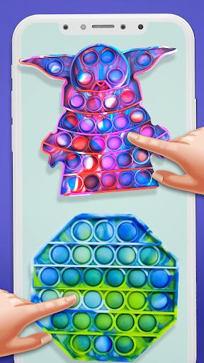 Pop It Sensory Fidget cube toys 3d Anxiety Relief  screenshots 2