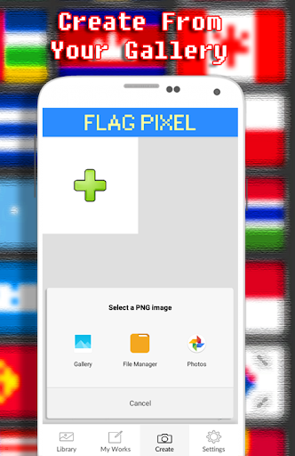 Flags Coloring By Number - Pixel  screenshots 7