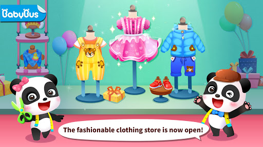 Baby Panda's Fashion Dress Up Game  screenshots 2