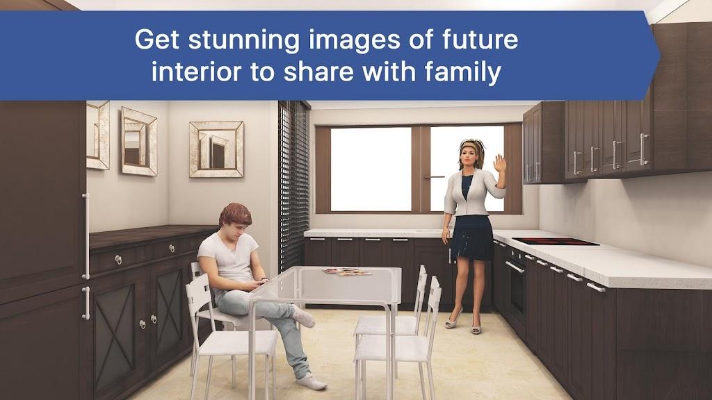 Room Planner: Home Interior & Floorplan Design 3D poster 2