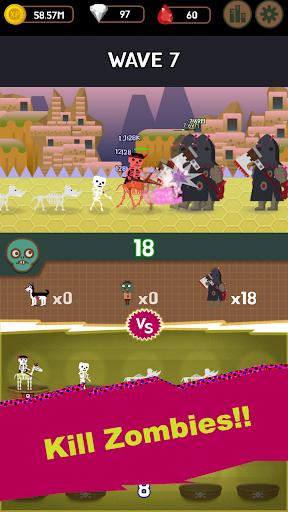 DungeonMon : Idle Merge Monster  screenshots 8