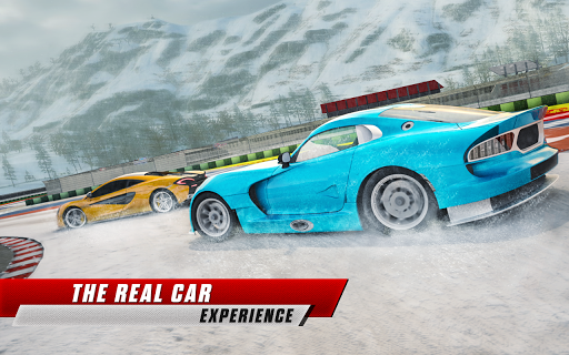 Snow Driving Car Racer Track Simulator  Screenshots 2