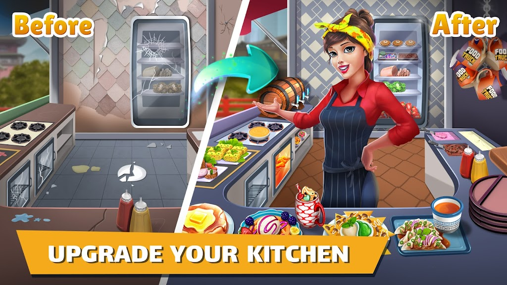 Cooking Games: Food Truck Chef My Cafe Restaurant poster 3
