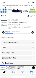 AAD Dialogues in Dermatology Apk 5