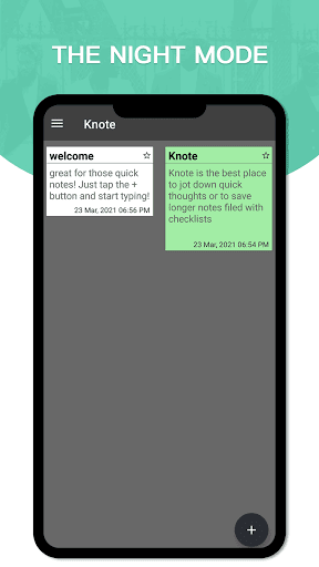 Knote screen 0