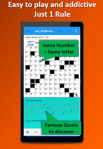 Codeword Puzzles Word games, fun Cipher crosswords 7.5 screenshots 2