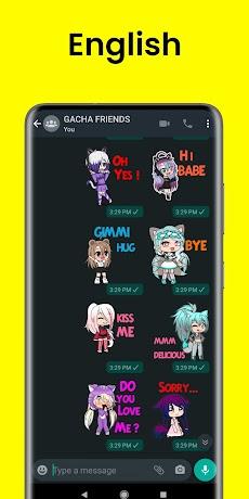 Gacha Stickers to chat with friendsのおすすめ画像5