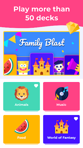 GuessUp - Word Party Charades & Family Game 3.3.1 screenshots 2