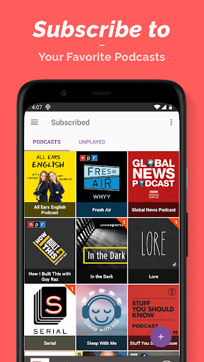 Podcast Player  Screenshots 3
