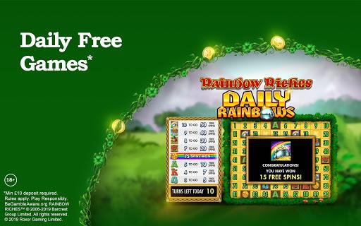Rainbow Riches Casino: Slots, Roulette & Casino screenshots 8