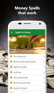 Money spells that work - Easy rituals Screenshot