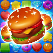 Cooking Crush Legend - Free New Match 3 Puzzle