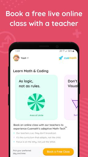 Cuemath: Math Games, Online Classes & Learning App 1.34.0 Screenshots 4