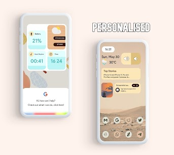 Android 12 Widgets KWGT Apk (PAID) 3