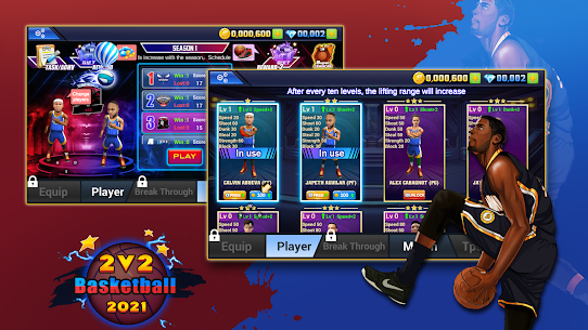 2 VS 2 Basketball 2021 Apk Download NEW 2021 3