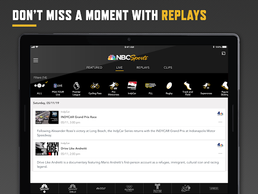 NBC Sports 8.1.7 Screenshots 12