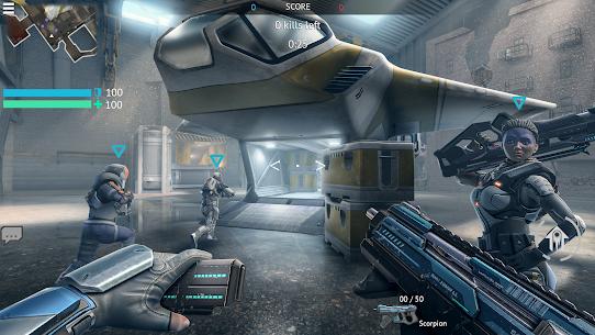 Infinity Ops Mod Apk: Online FPS Cyberpunk Shooter 2