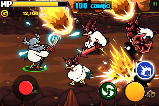 Chicken Revolution : Warrior screenshots 3