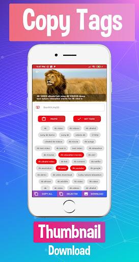 tuber pro - tags & seo master screenshot 2