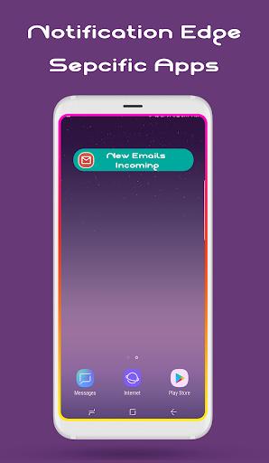 Edge Lighting : Notification, Rounded Corner  Screenshots 5