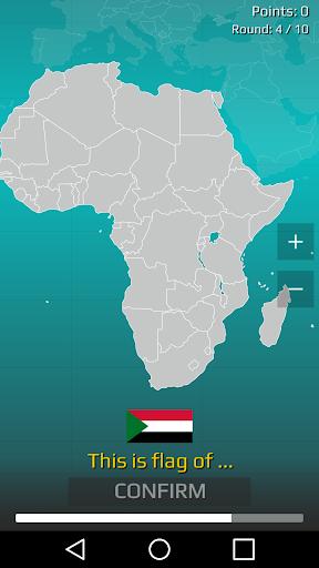 World Map Quiz 2.17 screenshots 3