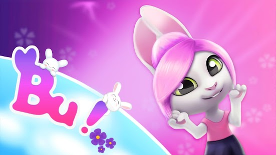 Bu the virtual Bunny - Cute pet care game Screenshot