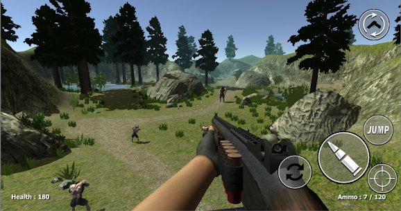Zombie Evil Kill 2 Mod Apk- Dead Horror FPS (God Mode) 2