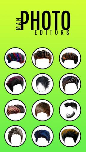 Man Photo Editor & Men HairStyle, Suits  screenshots 1