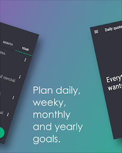 ProGo App - Productive goals Screenshot