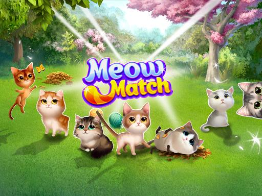 Meow Match: Cats Matching 3 Puzzle & Ball Blast Apkfinish screenshots 13