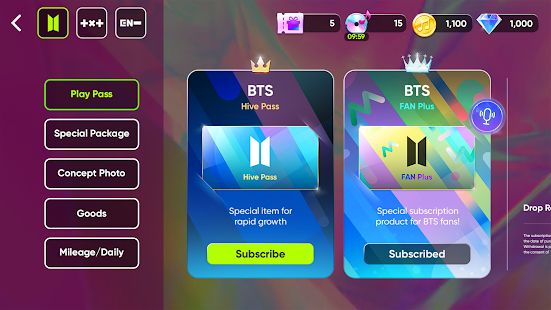 Rhythm Hive : Play with BTS, TXT, ENHYPEN! 2.2.1 Screenshots 5
