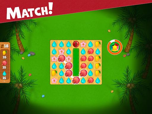 Island Puzzle: story basiertes game. Match offline  screenshots 9