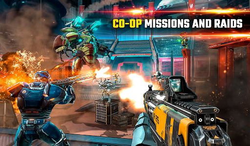 SHADOWGUN LEGENDS - FPS and PvP Multiplayer games apkpoly screenshots 22