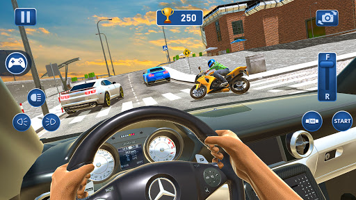 Car Driving School Simulator 2021: New Car Games 1.0.11 screenshots 5